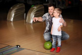 Father Son Bowling